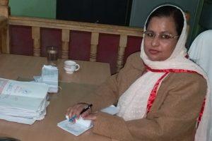 Nahjabeenn at her Hajipur Office (2)