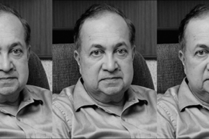 دی ہندو کے چیئر مین این رام, فوٹو بہ شکریہAleph Book Company