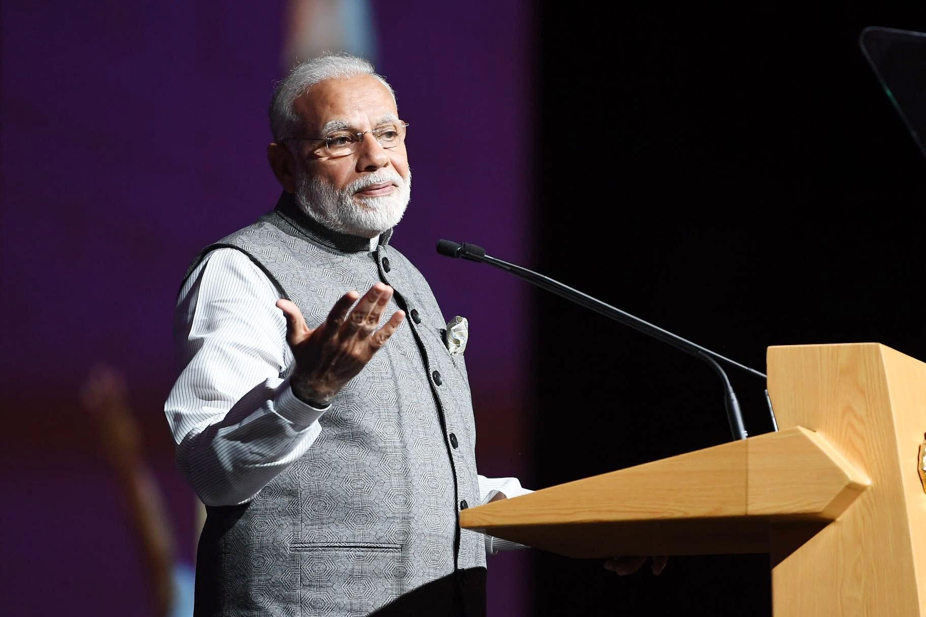 وزیر اعظم نریندر مودی (فوٹو بہ شکریہ: پی آئی بی)