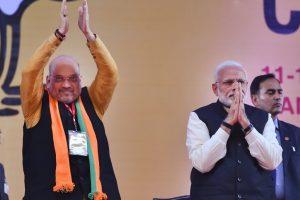 وزیر اعظم نریندر مودی اور بی جے پی صدر امت شاہ(فوٹو : پی ٹی آئی)