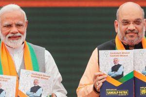 Narendra-Modi-Amit-Shah-bjp-manifesto-2019-Reuters