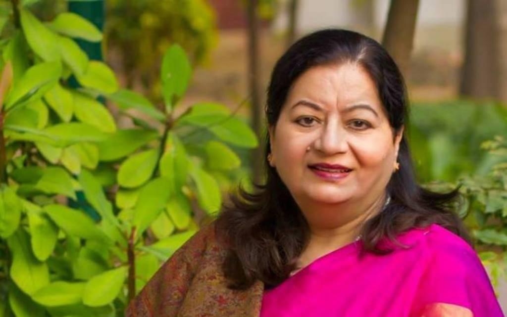 جامعہ ملیہ کی وائس چانسلر، نجمہ اختر (فوٹو بہ شکریہ : فیس بک)