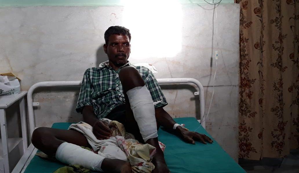 بھیڑ کے حملے میں زخمی پیٹر کیرکیٹا (فوٹو بہ شکریہ : ٹوئٹر)