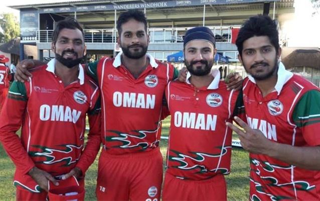 عمان کرکٹ ٹیم، فوٹو: ٹوئٹر
