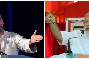 راہل گاندھی اور نریندر مودی(فوٹو : پی ٹی آئی)