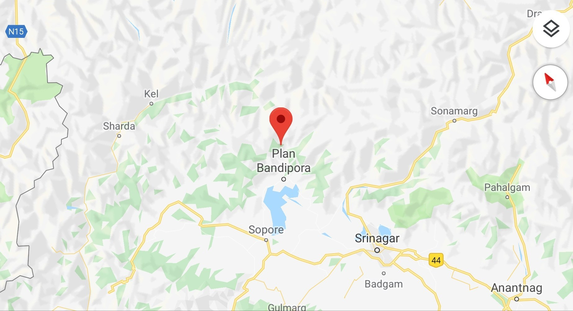 Bandipora-Map