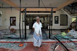 مساجد کو شدید نقصان پہنچایا گیا ہے