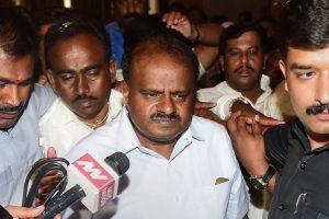کرناٹک کے وزیراعلیٰ ایچ ڈی کمارسوامی(فوٹو : پی ٹی آئی)