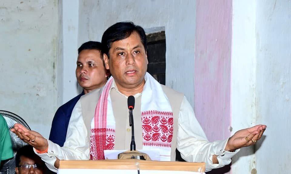 آسام کے وزیراعلیٰ سربانند سونووال(فوٹو بشکریہ:فیس بک)