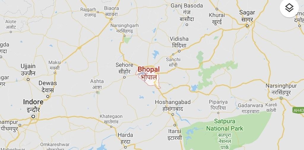 Bhopal-Map