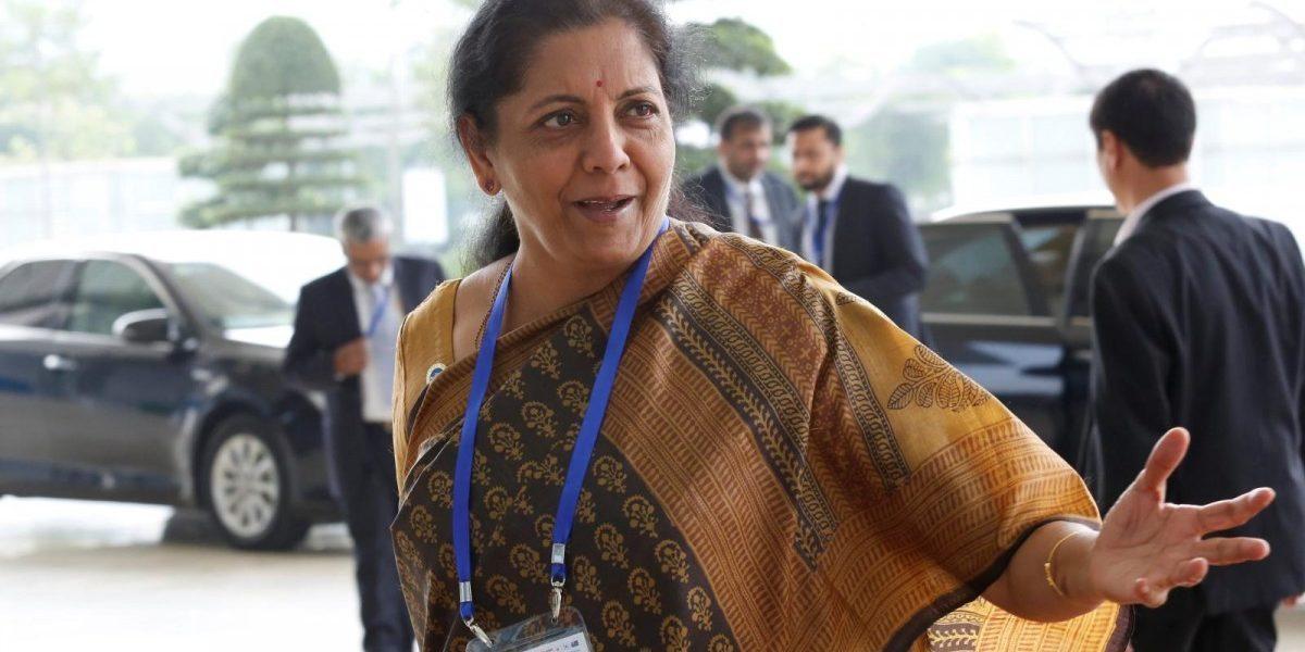 وزیر خزانہ نرملا سیتا رمن