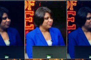 صحافی ریوتی پوگدادندا (فوٹو بہ شکریہ : revathitweets/Twitter)