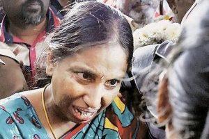 راجیو گاندھی قتل معاملے میں مجرم نلنی (فوٹو : پی ٹی آئی)