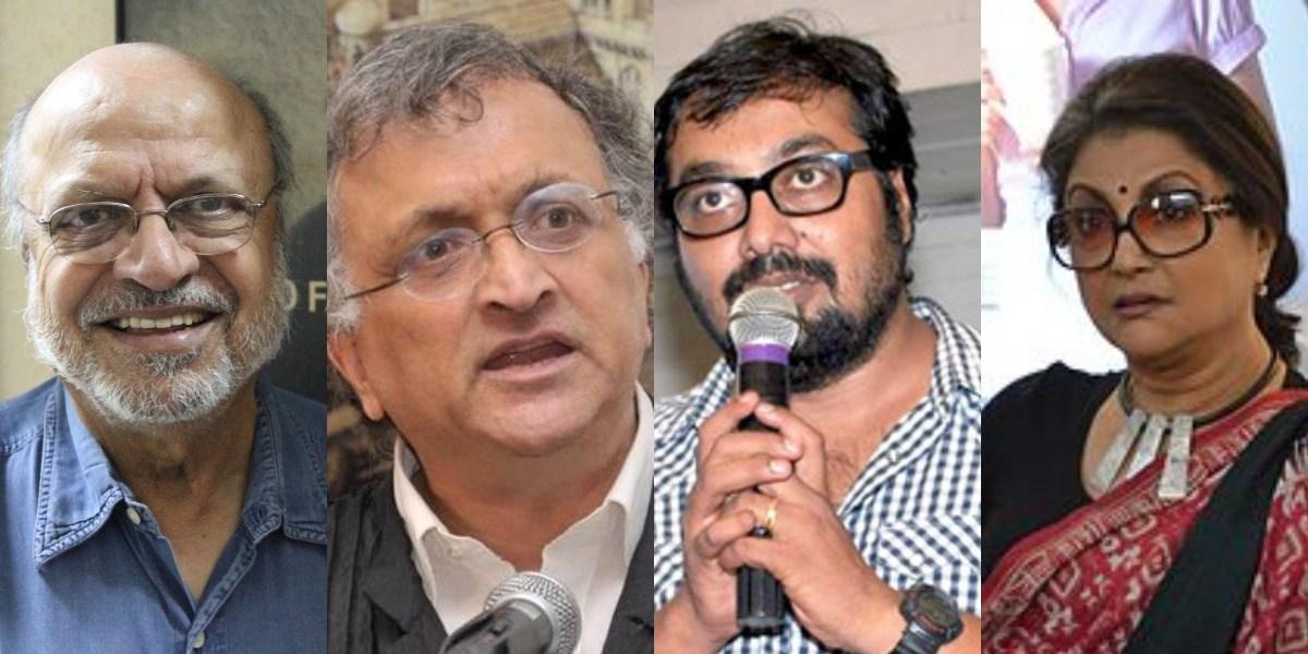شیام بینیگل، رام چندر گہا، انوراگ کشیپ اور اپرنا سین۔