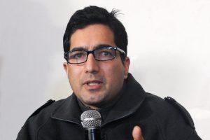 سابق آئی اے ایس افسر شاہ فیصل۔ (فوٹو : پی ٹی آئی)
