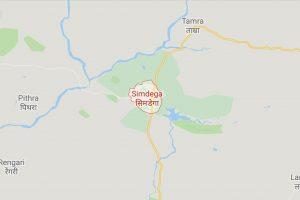 Simdega-Jharkhand-Map