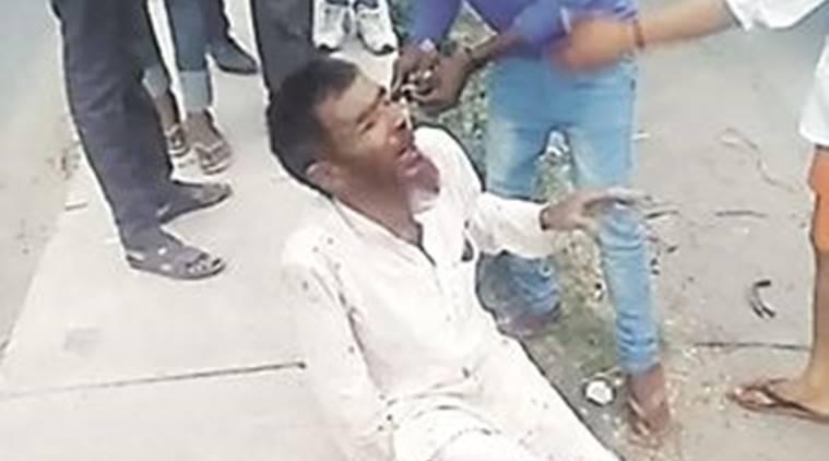 پہلو خان، فوٹو: ان پر حملے ہوئے ویڈیو فوٹیج سے