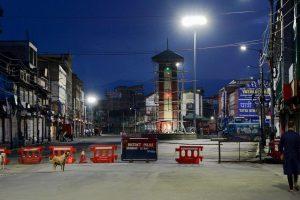 سرینگر کا لال چوک (فوٹو: پی ٹی آئی)