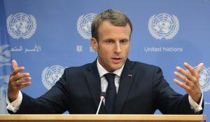 فرانس کے صدر امانوئل میکروں (فائل فوٹو : رائٹرس)