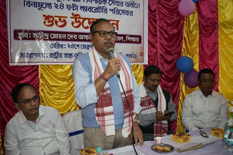 آسام بی جے پی رہنما دلیپ کمار پال (فوٹو بہ شکریہ: فیس بک)