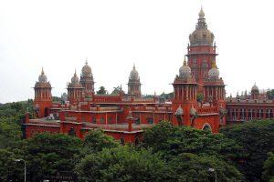 مدراس ہائی کورٹ۔ (فوٹو بہ شکریہ : فیس بک / Chennaiungalkaiyil)