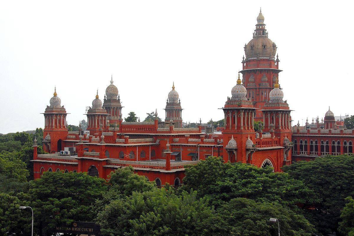 مدراس ہائی کورٹ۔ (فوٹو بہ شکریہ: فیس بک/@Chennaiungalkaiyil)