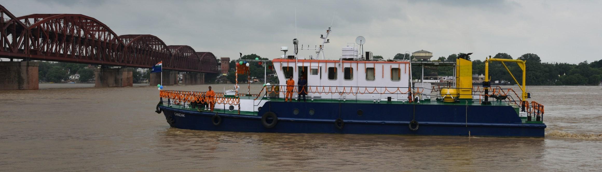 فوٹو بہ شکریہ : Inland Waterways Authority of India
