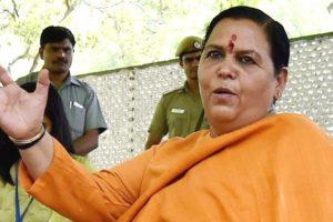 مدھیہ پردیش کی سابق وزیراعلیٰ اور بی جے پی کی سینئر رہنما اوما بھارتی (فوٹو : پی ٹی آئی)