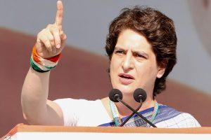 پرینکا گاندھی، فوٹو بہ شکریہ: ٹوئٹر/@INCIndia