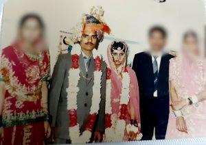 جئے پور میں ہوئی روپ کنور کی شادی کی تصویر(فوٹو : مادھو شرما)