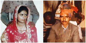 روپ کنور اور ان کے شوہر مال سنگھ(فوٹو : مادھو شرما)