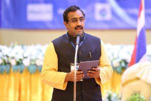 بی جے پی جنرل سکریٹری رام مادھو (فوٹو : ٹوئٹر)
