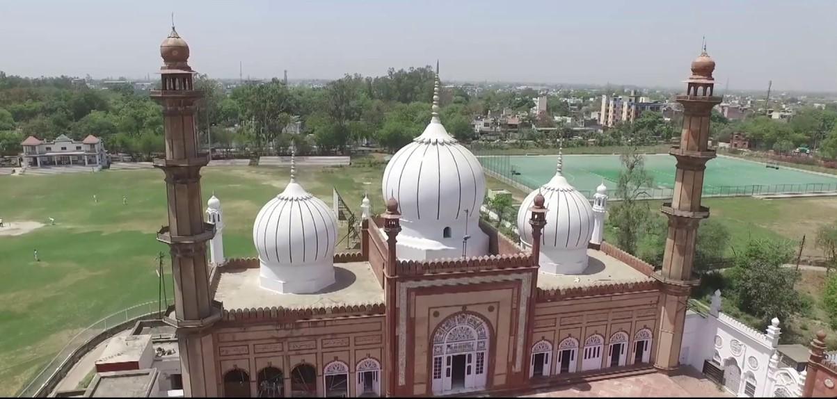 جامع مسجد، اے ایم ہو/ فوٹو بشکریہ : ڈیپارٹمنٹ آف ماس کمیونیکیشن، اے ایم یو