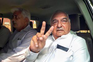 سینئر کانگریسی رہنما اور سابق وزیراعلیٰ بھوپیندر سنگھ ہڈا(فوٹو : پی ٹی آئی)