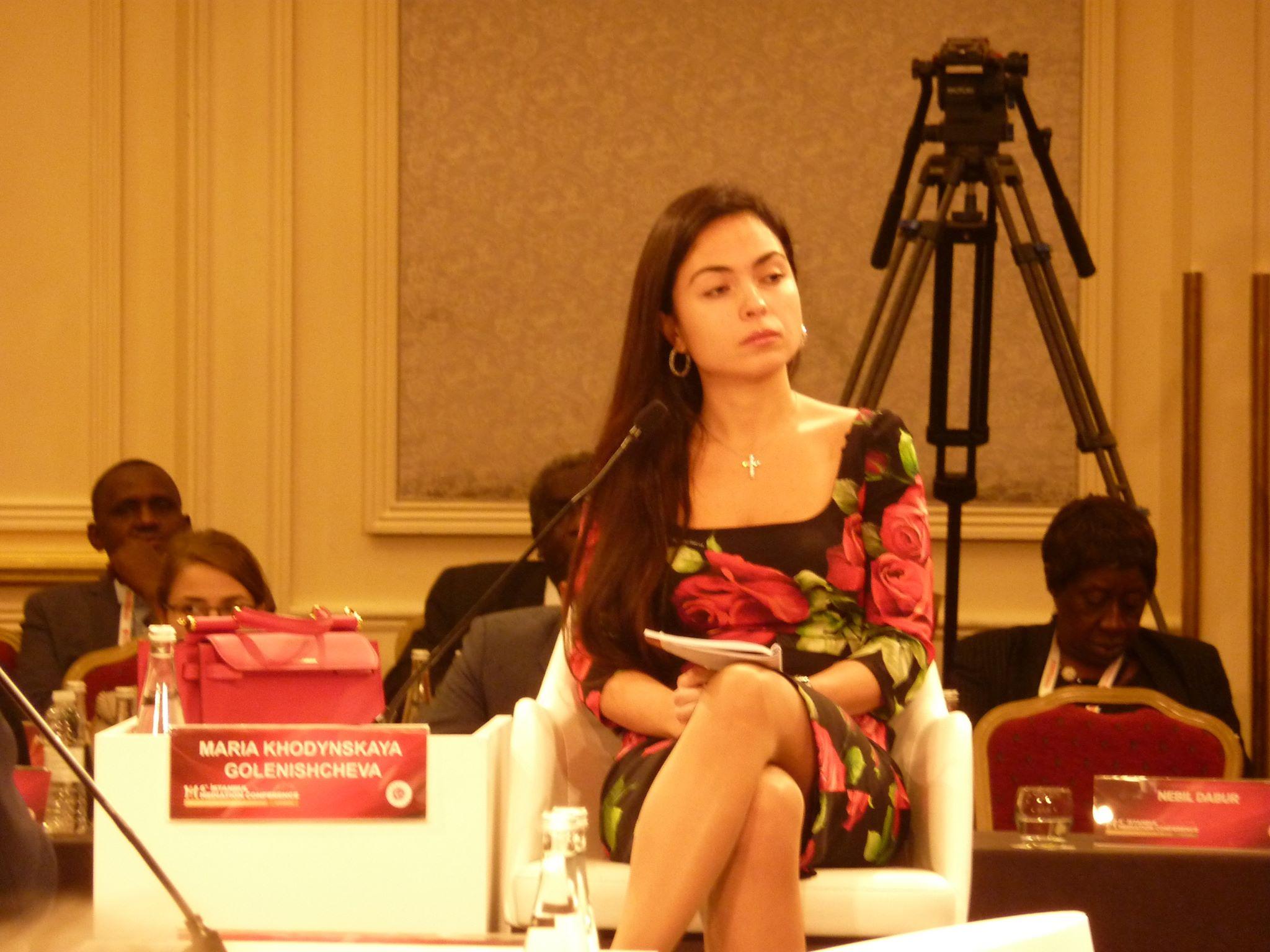 ڈاکٹر ماریہ خودنسکایہ گولینچی شچیوا ، فوٹو: افتخار گیلانی