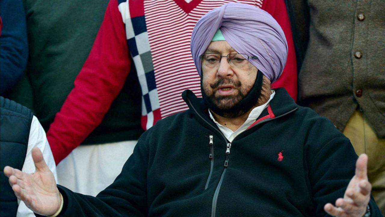پنجاب کے وزیراعلیٰ کیپٹن امریندر سنگھ(فوٹو : پی ٹی آئی)