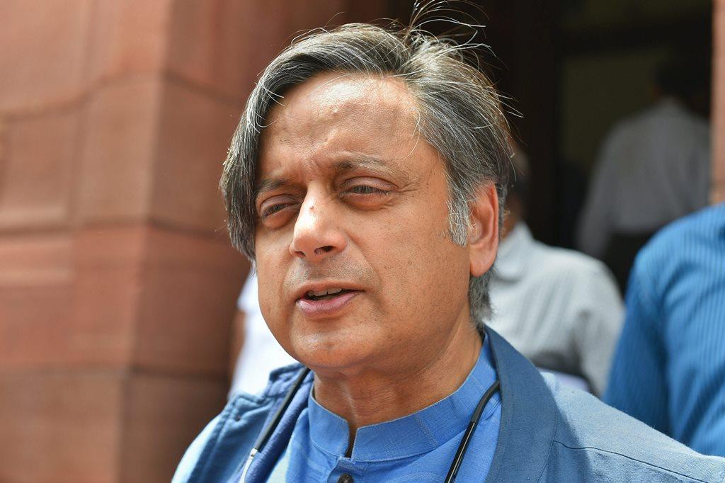 کانگریس رکن پارلیامان ششی تھرور(فوٹو : پی ٹی آئی)