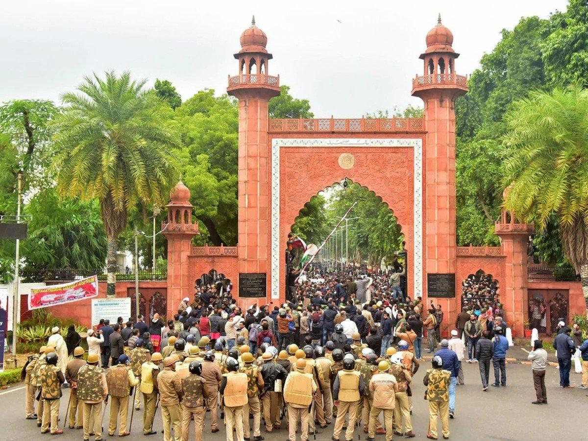 علی گڑھ مسلم یونیورسٹی (فوٹو : پی ٹی آئی)