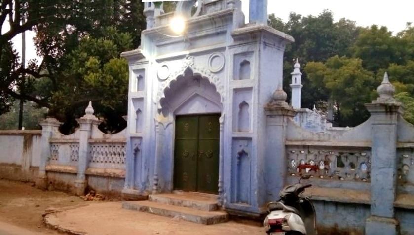 گورکھ پور پولیس لائن میں بنی مسجد(فوٹو : منوج سنگھ)