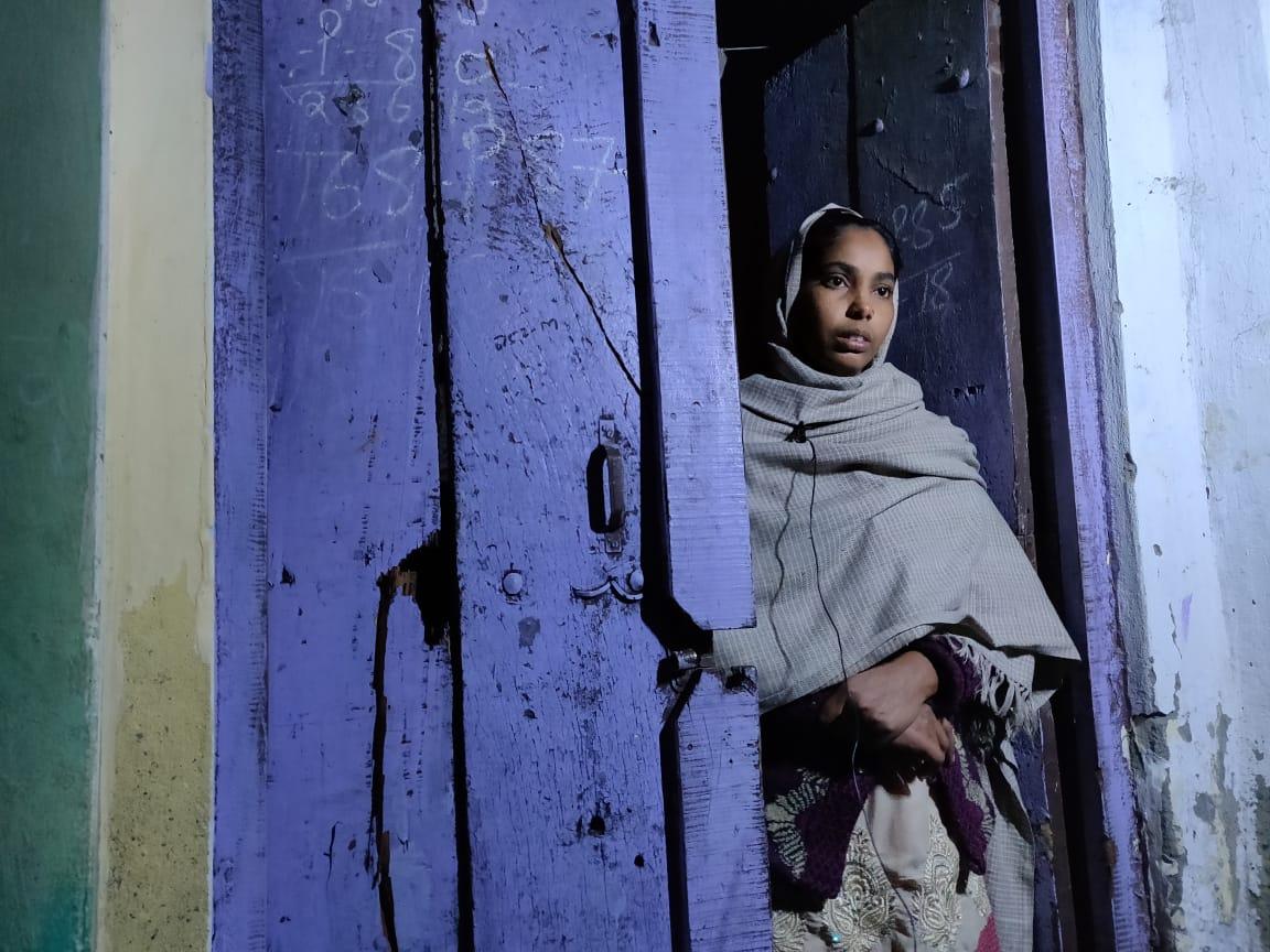 ضمیر خان کی اہلیہ تسلیم جہاں(فوٹو: دی وائر)