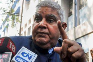 مغربی بنگال کے گورنر جگدیپ دھن کھڑ (فوٹو: پی ٹی آئی)