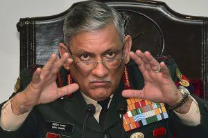 چیف آف ڈیفنس اسٹاف جنرل بپن راوت(فائل فوٹو: پی ٹی آئی)