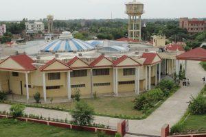 الٰہ آباد کی اتر پردیش راجرشی ٹنڈن اوپن یونیورسٹی (فوٹو بہ شکریہ: فیس بک)