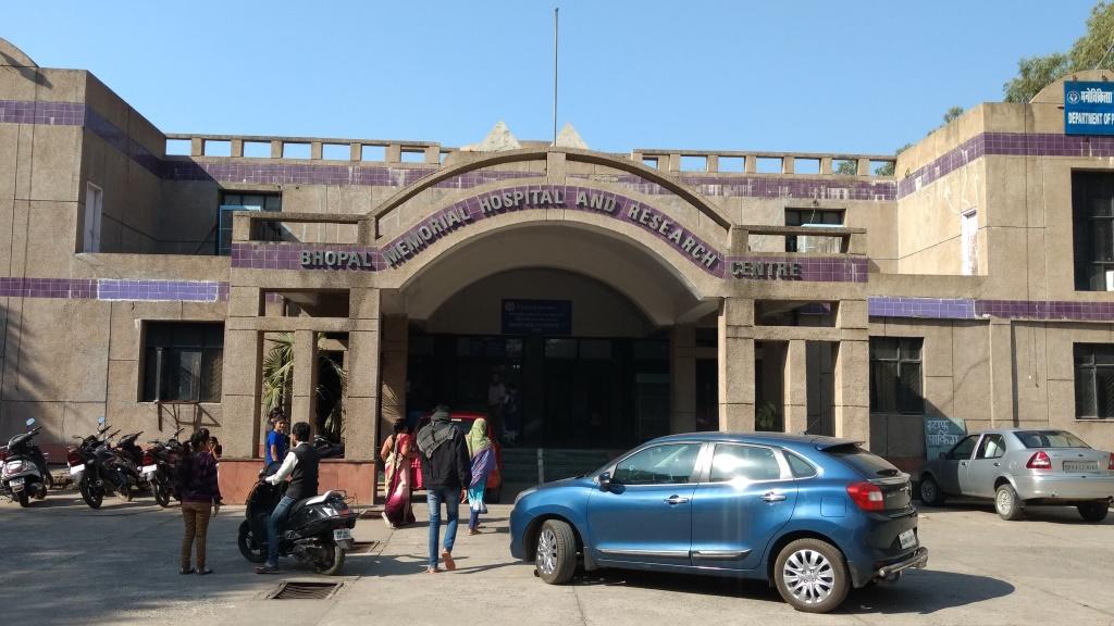 گیس متاثرین کے لئے بنے سب سے بڑے ہاسپٹل بھوپال میموریل ہاسپٹل اینڈ ریسرچ سینٹر(فوٹو : دیپک گوسوامی)