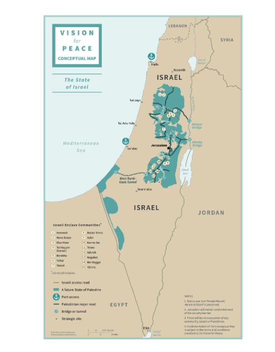 map of israel palestine1