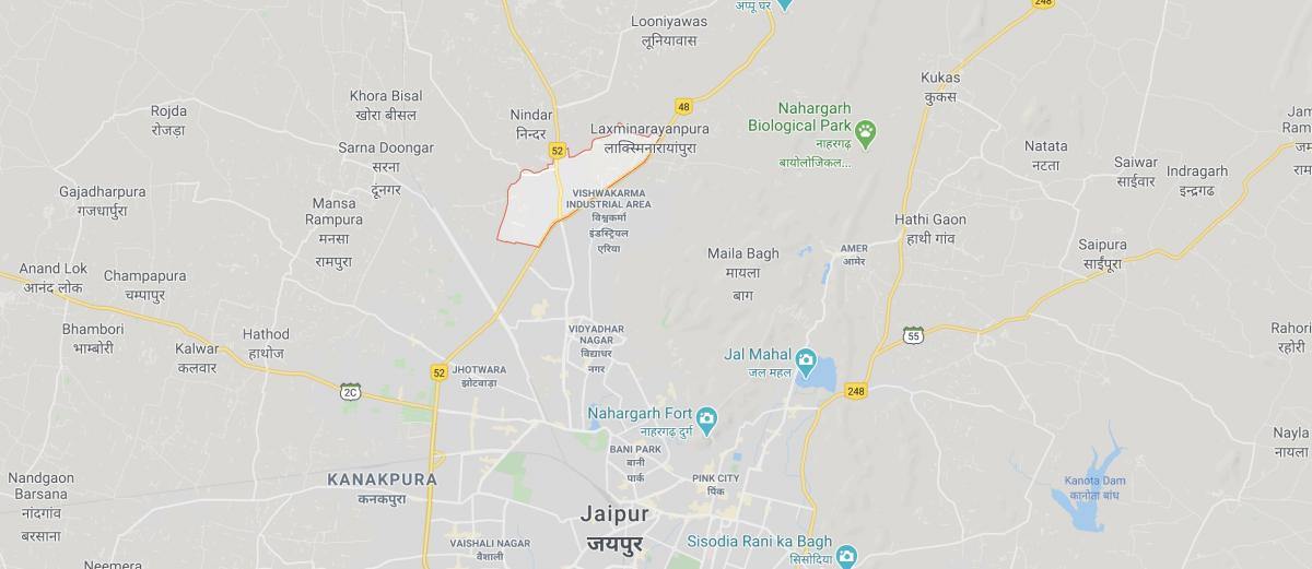 Jaipur-Harmada-area