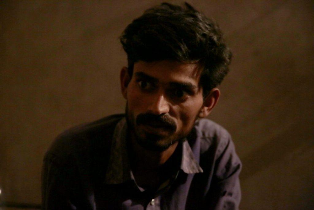 متاثرہ دلت نوجوان ویسارام نایک۔ (سبھی فوٹو : اودھیش آکودیا/دی وائر)
