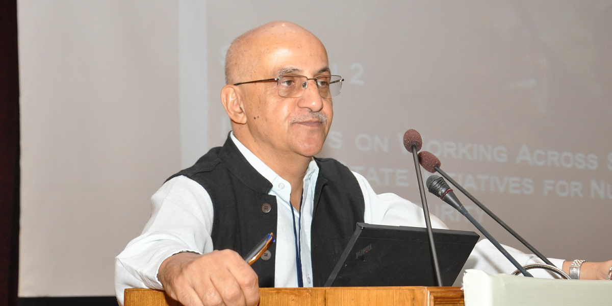 Harsh Mander. Photo: Flickr/IFPRI South Asia CC BY NC ND 2.0