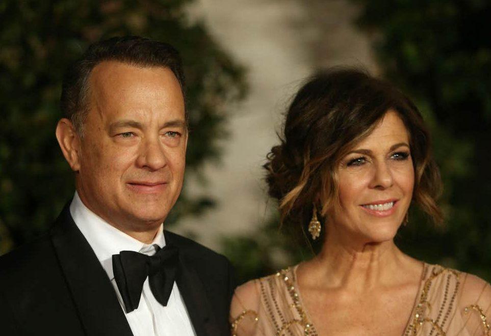 ٹام ہیکنس اور ان کی بیوی ریٹا ولسن،فوٹو: رائٹرس