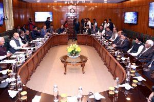 جموں و کشمیر اپنی پارٹی کے ایک وفد نے گزشتہ اتوار کو مرکزی وزیر داخلہ امت شاہ سے نئی دہلی میں ملاقات کی۔